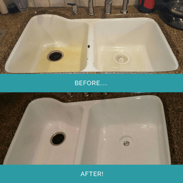 sink refinishing. beautiful ideas. Home Design Ideas