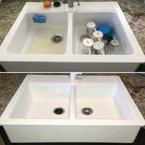 Sink Refinishing In Miami And Broward | Sink Repair and Restore